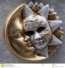 moon mask sun and moon mask stock photos image 1331033