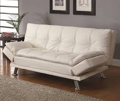 Large Sofa Bed Sofa Mesmerizing Coaster Sofa Bed 11 Sleeper In White Homebnc