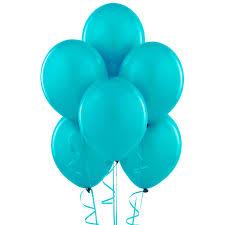 bermuda blue turquoise matte balloons birthdayexpress com