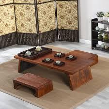 Center Table For Living Room Asian Japanese Wood Table Rectangle 120x55cm Living Room