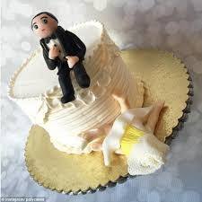 divorce cake toppers men and women are divorce cakes made to celebrate end of