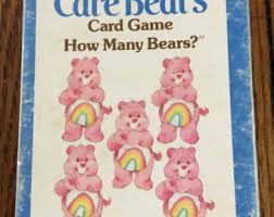 care bears card game bears memory