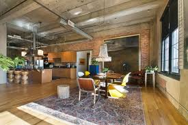 wonderful loft interior design ideas modern industrial loft
