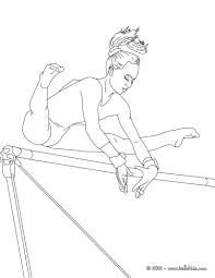 balance beam artistic gymnastics coloring pages hellokids com