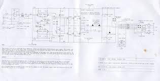 circuit dias stereo power amplifier complete diagram 119k amcron