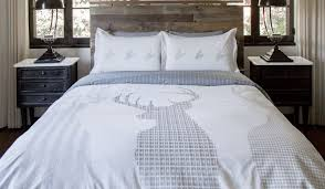 Houndstooth Comforter Masculine Bed Spray Thread Experiment