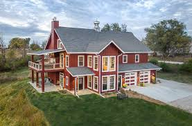 build custom home a lifetime of barns inspires a new custom home silent