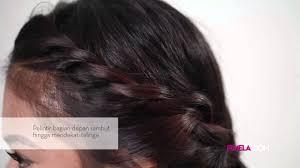 download tutorial rambut ke pesta hair fashion video tutorial easy bun hairstyle youtube