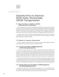 chapter 7 opportunities to improve multi state multimodal osow