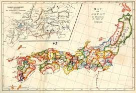 Map Japan Map Of Japan In 1600 2224x1531 Mapporn