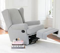 Pottery Barn Recliners Wingback Glider U0026 Recliner Pottery Barn Kids