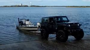 water jeep jeep sitting in water on boat loading r stock footage