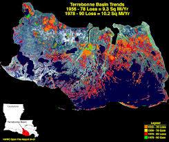 Louisiana Flood Zone Map by The Terrebonne Basin