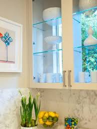 Stationary Window Designs  Window Decorating Ideas With Glass - Glass shelves for kitchen cabinets