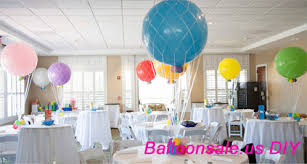 cheap chocolate balloon nets for air balloon centerpieces 36