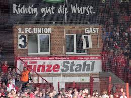 Wm Wohnzimmer Union Berlin Fussballtradition Alte Försterei Union Berlin Anzeigetafel