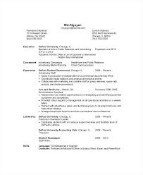 resume exles for recent college grads sle resumes for recent college graduates