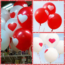 valentines day balloons wholesale 12 inch 2 8g heart balloon for s wedding christmas