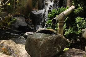 brown bamboo fountain free image peakpx