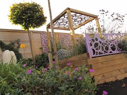 Mediterranean Backyard Landscaping Ideas by Timber Pergola And Jakwall Landscape Timbers Jacksons Fencing