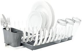 Plastic Dish Drying Rack Amazon Com Full Circle Smart Rack Collapsible Dish Drying Rack