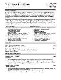 Oilfield Resume Templates 1 Or 2 Page Resume 101 Examples Free Resume Templates