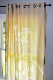 how to make grommet curtains hgtv