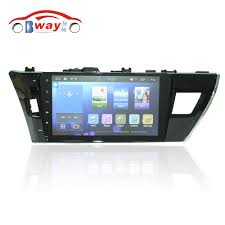 toyota co ltd 10 2 toyota corolla 2014 low trim android 5 1 car dvd with 1g bw