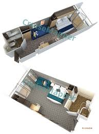oasis of the seas floor plan oasis of the seas cabins and suites cruisemapper