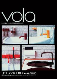 vola bath and kitchen faucets designed by arne jacobsen in the