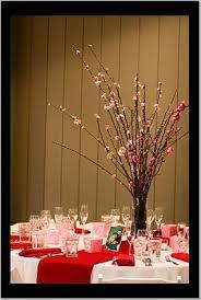 brides helping brides cherry blossom centerpieces liweddings