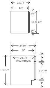 Kitchen Cabinet Doors Canada Kitchen Cabinet Standard Sizes Canada Www Redglobalmx Org