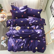Blue And Purple Comforter Sets Queen Size Compare Prices On Purple Queen Comforter Set Online Shopping Buy