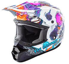 pink motocross helmet kinetic invazion youth pink helmet fly racing motocross mtb