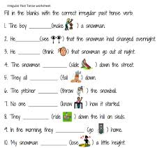grammar worksheet simple past tense classroom u0026 teaching ideas