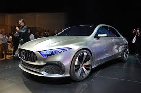 mercedes concept car mercedes gives compact cars a style rethink with its concept a sedan