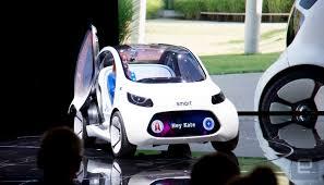 mercedes u0027 smart vision eq is a tiny urban autonomous concept