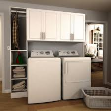 white laundry room cabinets laundry room storage the home depot