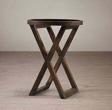 X Side Table X Base Side Table