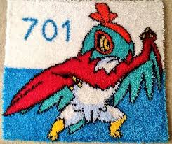 Latch Hook Rugs Latch Hook Rug Hawlucha By Dacyanwaffle123 On Deviantart