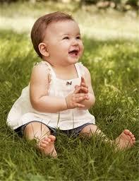 imagenes bellas de bebes sonriendo