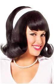 1950s headband 1950 s wig w detachable headband