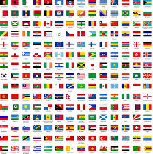 World Map Country Flags World Flags Map Pictures