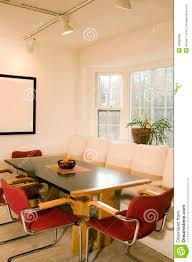 contemporary dining room bay window stock photo image 18985686