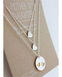 necklace for mothers big deal on necklace set 2 daughters silver