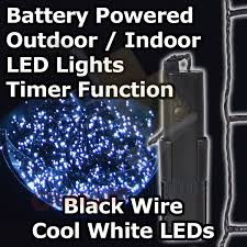 battery operated multi function outdoor led timer lights