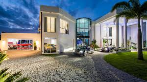 Garage House by Five Houses With Super Garages For Supercars
