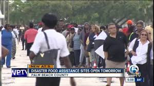 hurricane irma disaster food assistance sites to open in palm