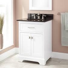 White Bathroom Vanity Cabinets by 24