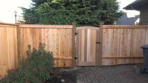 carole u0027s cap and bevel fence with trellis and gate eugene or
